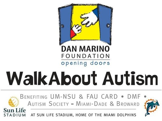 1st Annual Dan Marino Foundation Walkabout Autism
