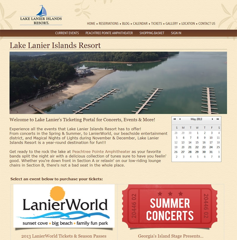 Lake Lanier Islands Resort