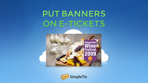 16 Banners on e-ticket