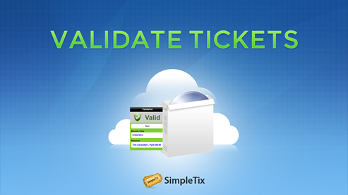 32 Ticket validation software