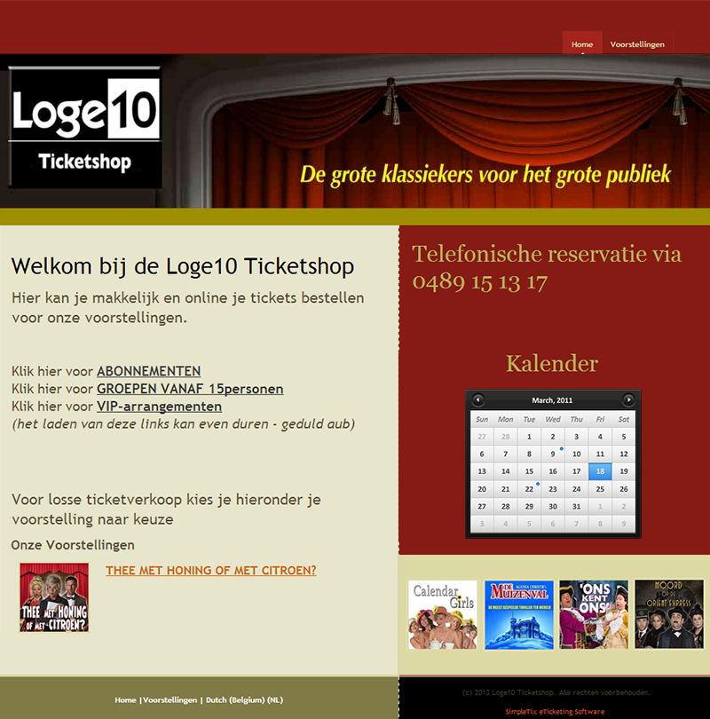 Loge10 Theater Producties