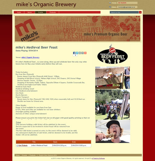 mike's Organic Brewery
