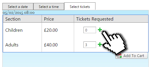 Improved Ticket Ordering And Quantity Control