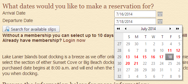 Improved Multi-day Ticket Reservations