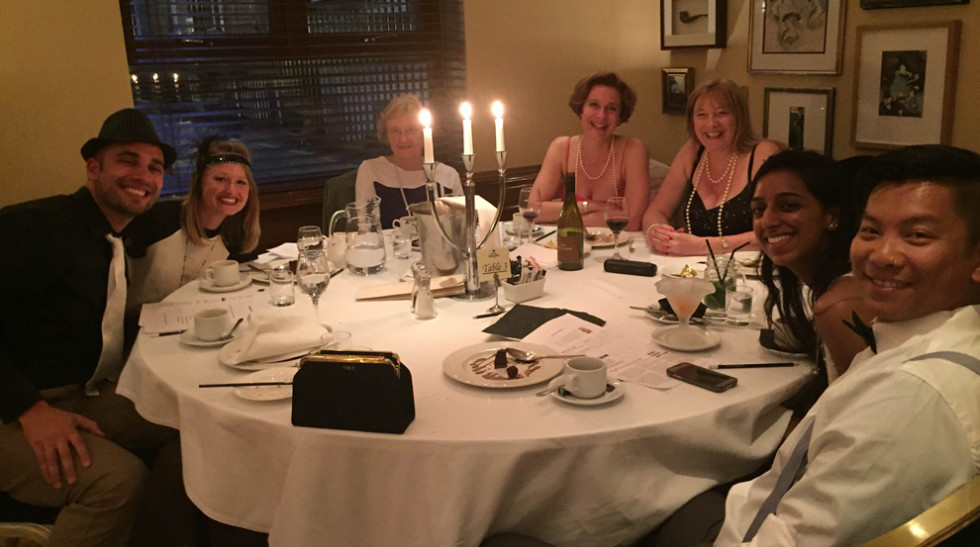 Client Visit With London's Top Murder Mystery Dinner
