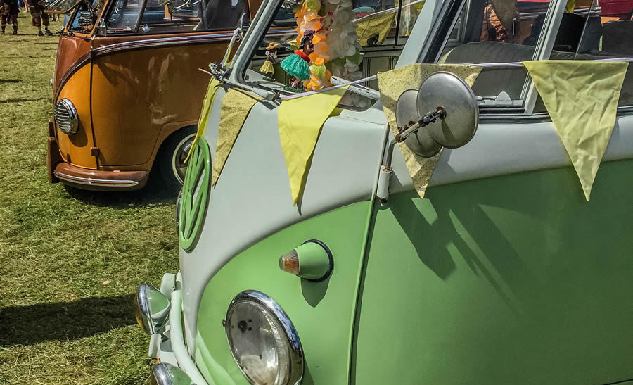 VW Festival In Wales Using CodeReadR And SimpleTix